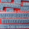供应橡胶字粒、活动字粒、牙印字粒