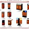 供应钢木垃圾桶、果皮箱等深圳酒店用品