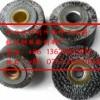 供应南京扭钢丝剥离刷辊、镀铜钢丝轮、钢丝剥漆皮轮、钢丝滚筒刷