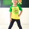 供应中山卡通童装,佛山儿童T恤,韩版童装