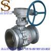 供应常州蜗轮球阀,Q341F-16C蜗轮法兰球阀,蜗轮铸钢球阀