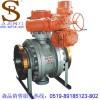供应常州电动球阀,Q947F-64C电动固定式球阀,常州电动固定式法兰球阀