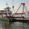 供应流量1100m/h 绞吸式挖泥船