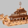 批发供应3D立体拼图DIY制作工艺智力开发模型