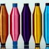 供应20D25D30D有色涤纶单丝(三叶、圆孔新型环保)