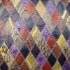 广州蛇皮纹家具专用蛇皮皮革批发报价