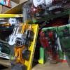 供应库存玩具,工程车玩具称斤批发,一共3吨,质优价廉