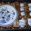 供应景德镇青花功夫茶具,手工陶瓷茶具直销价格