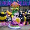 供应4臂升降旋转小蜜蜂,儿童游艺设施升降旋转飞机,儿童玩具厂家