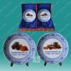 供应厂家定做纪念瓷盘,礼品瓷盘最低价格