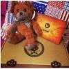 供应coffee bear咖啡豆健康减肥小熊 厂家定制毛绒玩具