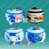 供应陶瓷茶叶罐,陶瓷蜂蜜罐设计,大量定做陶瓷罐